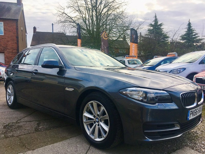 BMW 5 SERIES 520d 190 Step Auto Start-Stop 520 SE